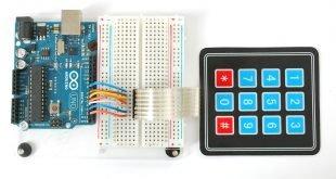 arduino ile şifreli kilit
