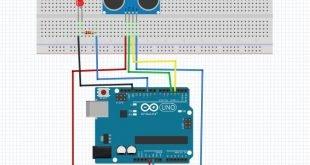 arduino ile ultrasonik sensör