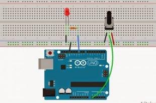 Arduino – Pot İle Led Parlaklığı Ayarlama